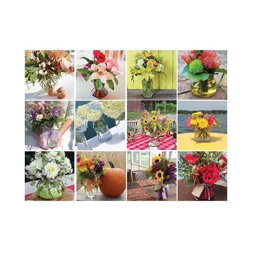 """Ultimate Floral Gift - """"Flowers for a Year"""""""