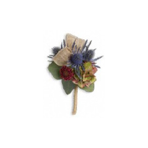 "Boutonniere - ""Midnight Wonders"" Mixed"