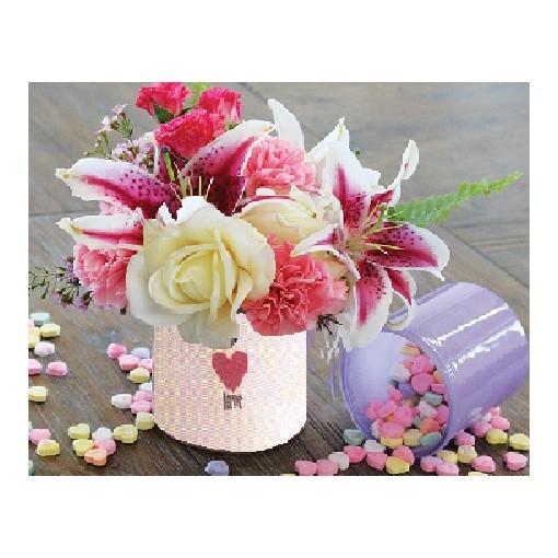 """Love, Love, Love"" Bouquet"