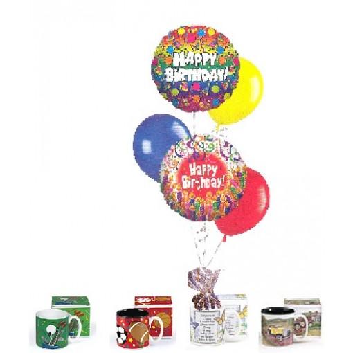 Our Sports-Theme Balloon Bouquet