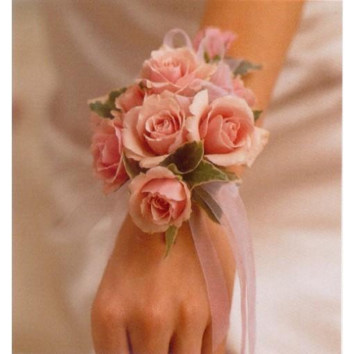 A Sweetheart Rose Wrist Corsage