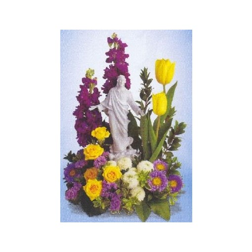 A Sacred Grace Bouquet by Teleflora