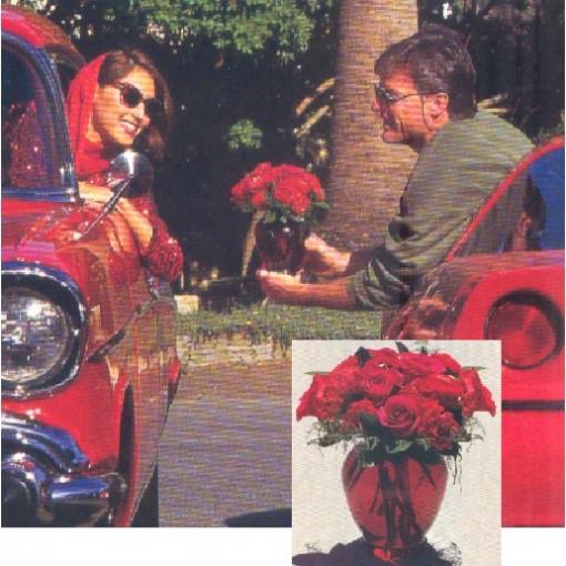 """Stole My Heart"" Bouquet"