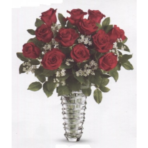 """Our """"Modern Love""""  Dozen Roses"""