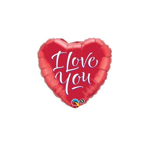 """I Love You"" Mylar Balloon"