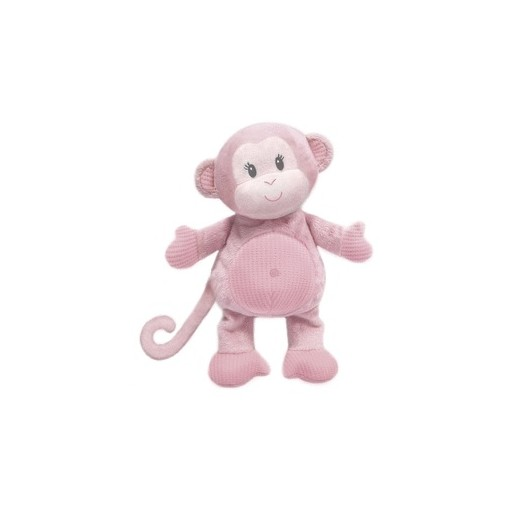 """Toodles"" Baby Girl Monkey Plush"