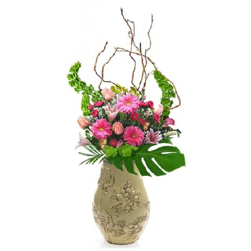 "Our ""Grand Tuscan Tour"" Vase Arrangement"