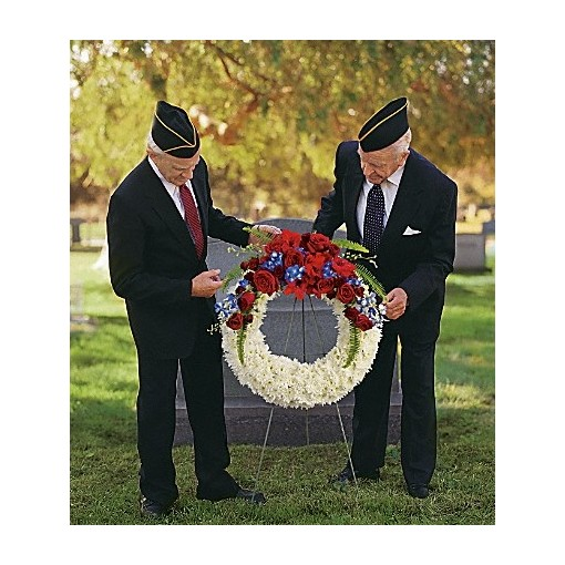 Glory Glory Patriotism Wreath