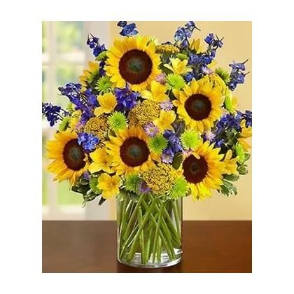 """Our """"Sigh High"""" Sunflower Bouquet"""