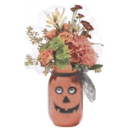 """Jack & The Mason Jar"" Bouquet"