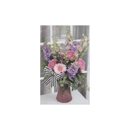 FloraDora #15 - Vintage Bliss Vase Bouquet