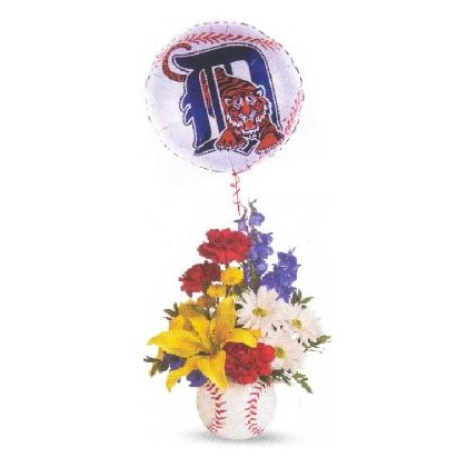 Lakeland's Favorite Spring Training Team: Detroit Tigers Bouquet