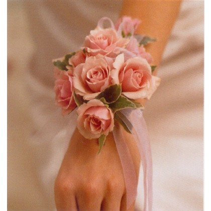 A Sweetheart Rose Wrist Corsage