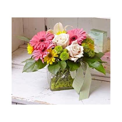 """""""Honeysuckle"""" Baby Bouquet"""