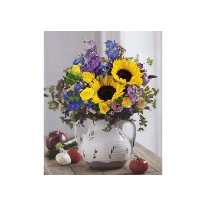 """Rebecca...of Sunny Lakeland"" Urn Arrangement"