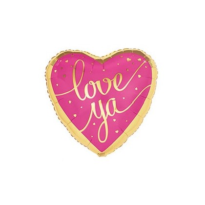 """Love Ya"" Mylar Balloon"