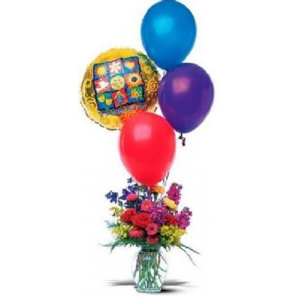 """Our """"Party in a Vase"""" Bouquet"""