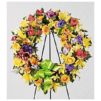 HOUSE SPECIAL - Mixed Floral Wreath