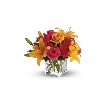 """Our """"Cute and Cubed"""" Bouquet"""