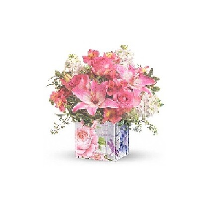 "FloraDora #11 - ""Enchanted Garden"" Bouquet"