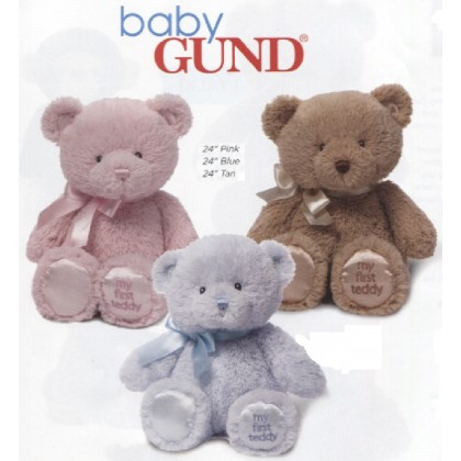 "LARGE GUND     ""My First Teddy"" Teddy Bears"