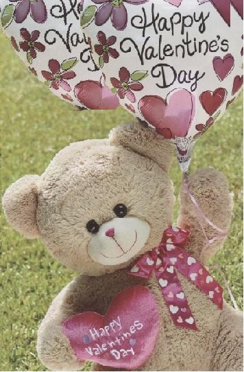 Valentine Plush & Balloons