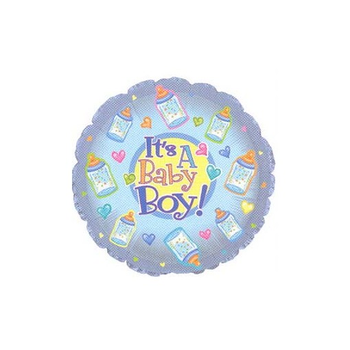 Baby Boy Mylar Balloon