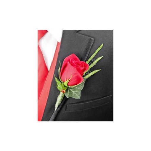"""Boutonniere - """"Royale Rose"""""""