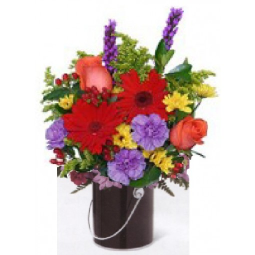 """Our """"Paint the Town For Him"""" Bouquet"""