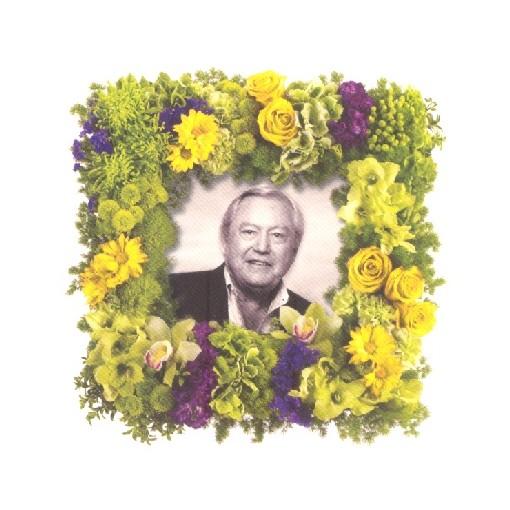 Square Memorial Wreath