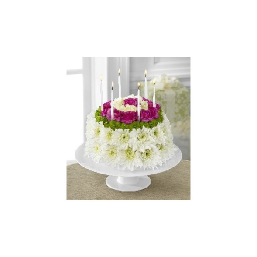 A Birthday Flower Cake