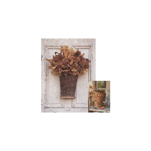 FloraDora # 3 - Willow Picking Basket Door Decor