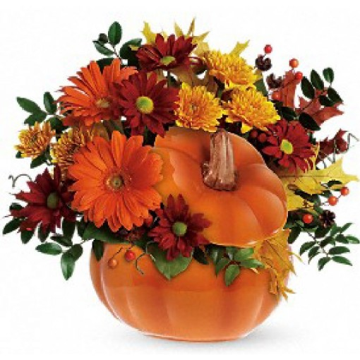 """Country Pumpkin"" Bouquet by Teleflora"