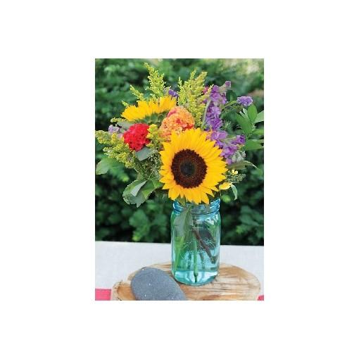 """Teal Meadows"" Bouquet"