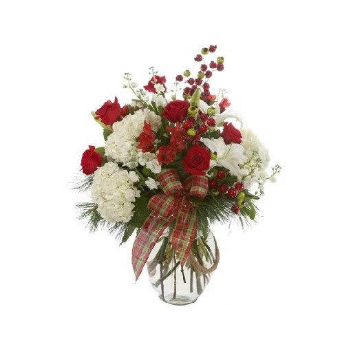 Santa Bella Vase Arrangement