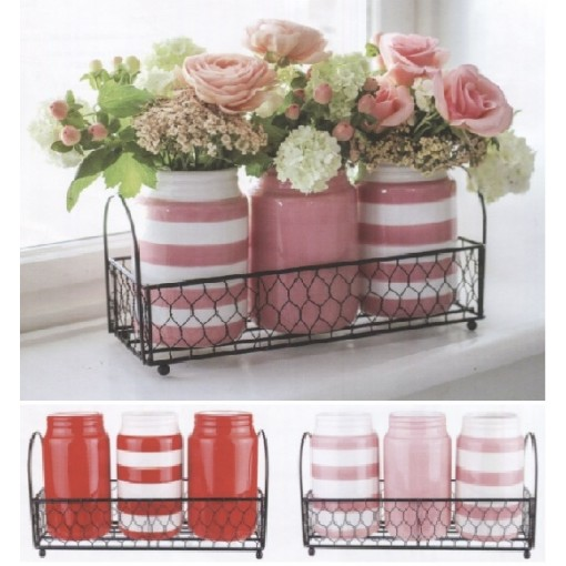 """Our """"Sweet Trio"""" RED Vintage Assortment"""