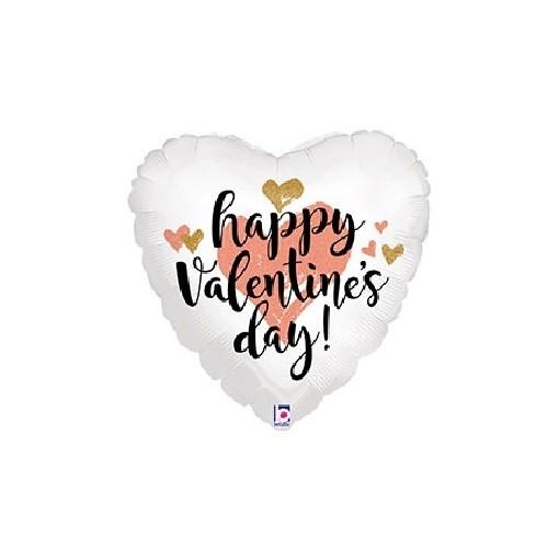 "Soft ""Happy Valentine's Day"" Mylar Balloon"