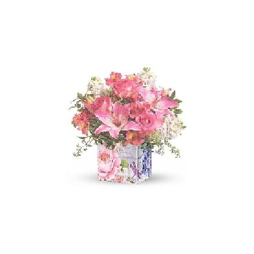 """FloraDora #11 - """"Enchanted Garden"""" Bouquet"""