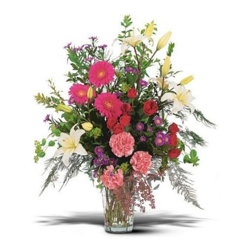 Large Sympathy Vase Arrangement