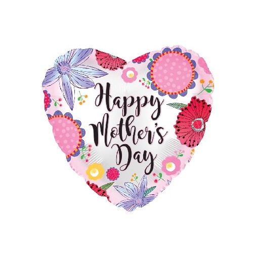 """Happy Mother's Day"" Mylar Balloon"