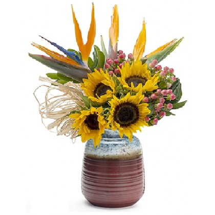 """Our """"Birds In Paradise"""" Bouquet"""