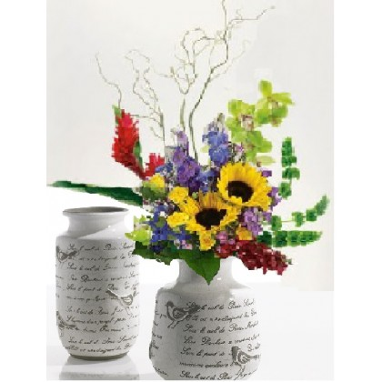"""A Songbird Serenade"" Vase Arrangement"