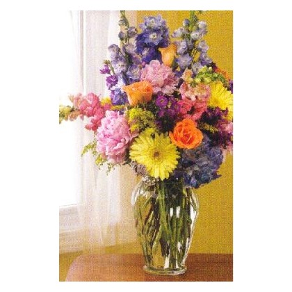 A Tapestry of Color Bouquet