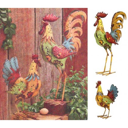 Amazing Tin Rooster