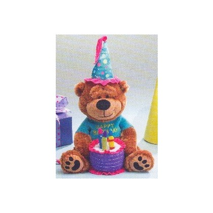 Colorful Birthday Teddy Bear