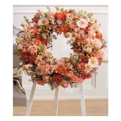 Enlighted Grace Wreath