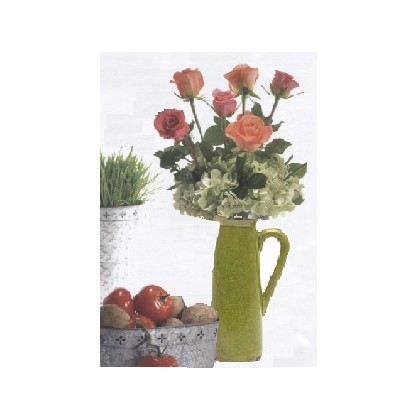 FloraDora # 1 - Farm Chic Charm Bouquet