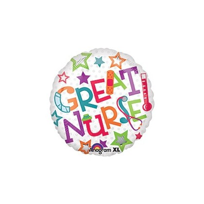 Great Nurse Mylar Balloon