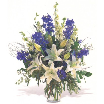 """Our """"Blooms of Blues"""" Bouquet"""