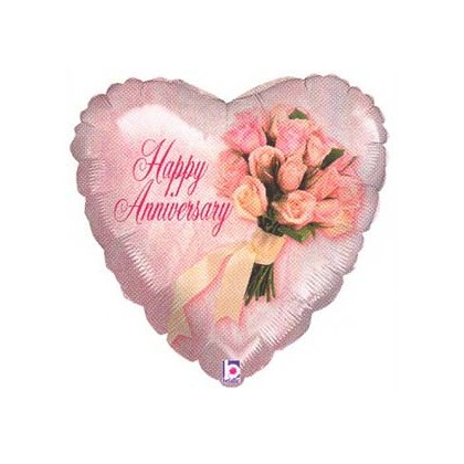 "Xtra ""Happy Anniversary"" Mylar Balloon"